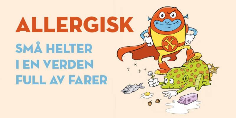 Allergisk-små helter i en verden full av farer-Sarah Herlofsen