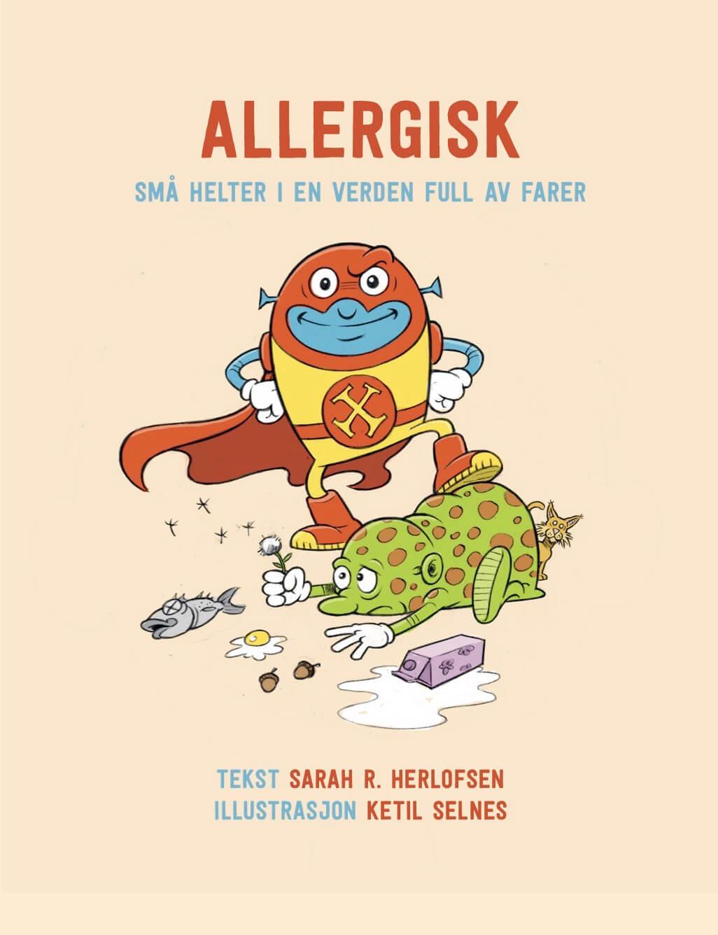 Cover allergisk-sma-helter-i-en-verden-full-av-farer