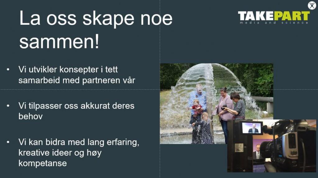 Takepart-La oss skape noe sammen