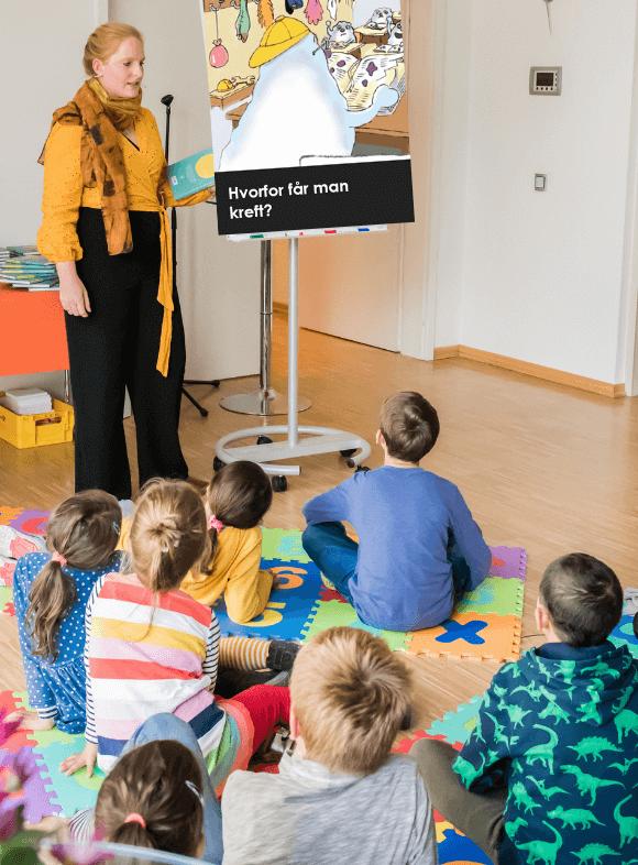 Sarah Herlofsen foredrag til barn