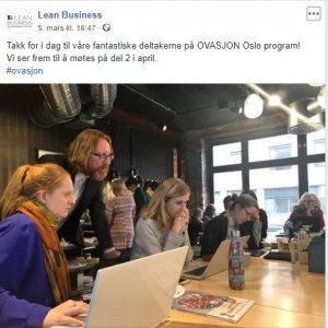 Ovasjon Sarah Herlofsen-Lean business